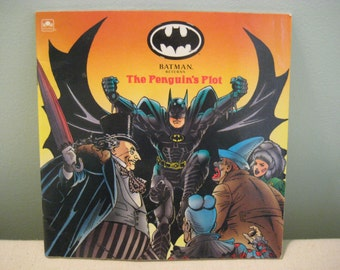Vintage Batman Returns Book The Penguins Plot