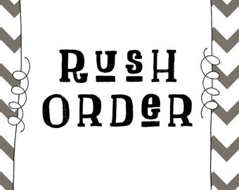 Rush Order for Make it Fierce (Single item)