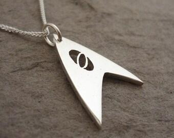 Trek Science Sterling Silver Handmade Pendant