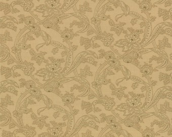 Collection for a Cause Circa 1852 - Jacobean Leaves in Tonal Cream by Howard Marcus for Moda Fabrics