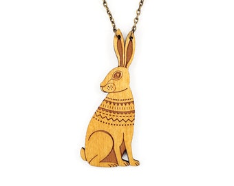 Woodland Hare Necklace