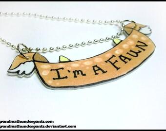 I'm a Faun Necklace