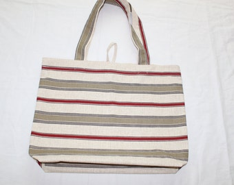 Grocery Bag, Tote, Cotton Bag, Beach bag, tote, Reusable grocery bag.