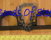 Long Chained Ankle Cuffs Restraint Bonds of Steel BDSM Mature