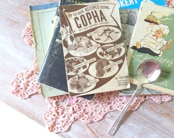 Vintage Collection of 1960s Cook Books
