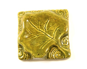 Falling Leaf Tile - 2 inches