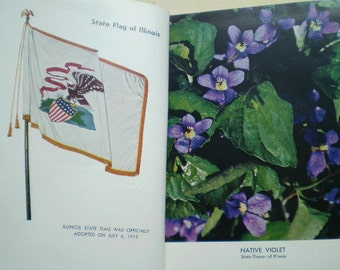 Illinois Blue Book 1959 1960 - Edited by Charles F. Carpenter - Illustrated - United States - History - Statistics