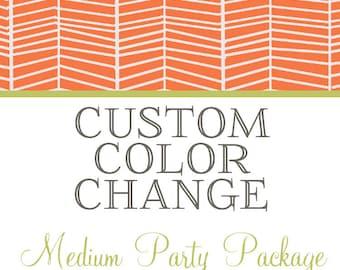 Custom Color Palette Request - Medium Party Package