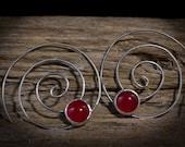 Custom Order: Sterling Silver Spiral Threaders (Medium)