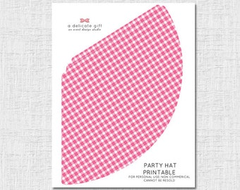 Apple of our Eye Printable Party Hat, Instant Downlaod