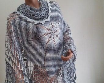 Unique shawl, on sale.