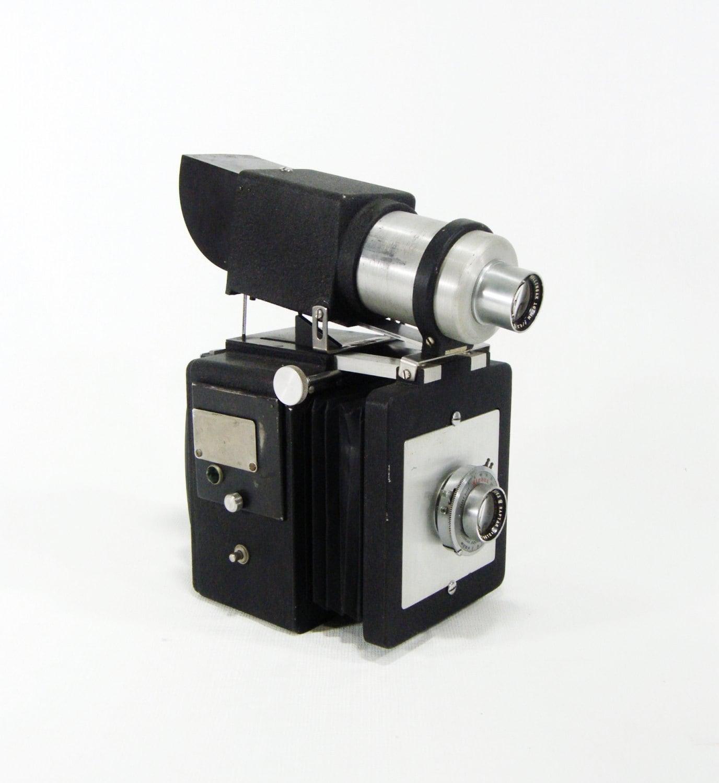 Space Gun style Vintage Portrait Camera