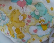 Vintage Care Bear Baby Crib Bumper Pad