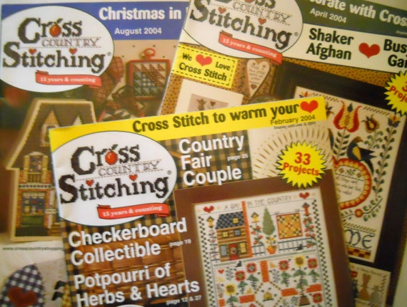 Cross Country Cross Stitch Magazine – Billy Knight
