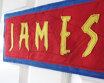 Personalized Name Sign Name Plaque Boys Room Door Sign