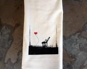 Oakland Lover's Single Crane Tea Towel