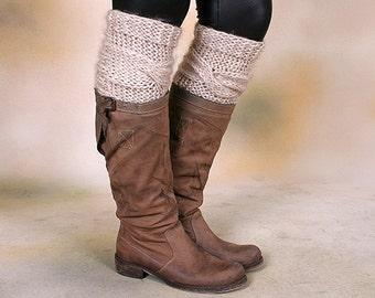 Oatmeal Boot Sock Leg Warmer - Women's Leg Warmers, Womens Boot Socks