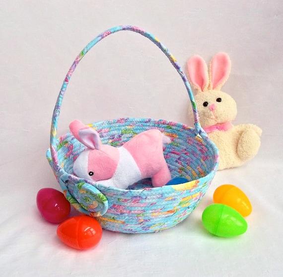 Baby 39 s first easter basket handmade easter egg hunt - Custom made easter baskets ...