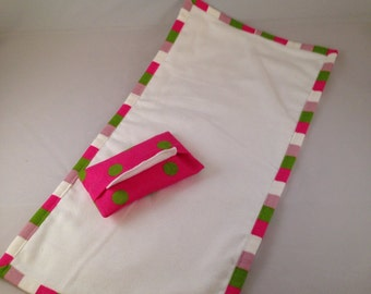 Doll Changing Pad and Wipes