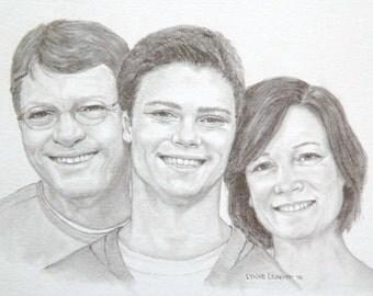Miniature Family Portrait
