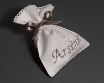 Favor bags in cotton - BOY / Baptism / Idea / Ceremony / Birthday / Party / Boy / Girl
