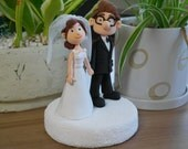 Custom Cake Topper -Movie character UP theme-