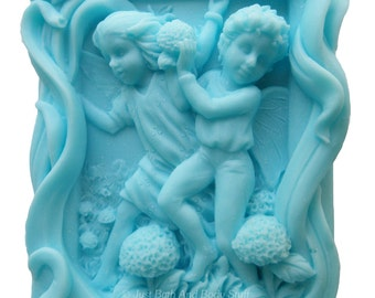 Fairy Soap, Playing in the Flowers, Novelty Soap, Fairie Soap, You pick scent & color