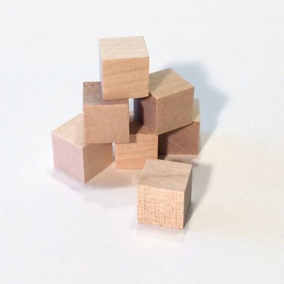 50 wooden blocks 50 blocks 1 2 inch cubes by iusedtobeatree. Black Bedroom Furniture Sets. Home Design Ideas