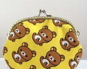 Medium Coin Purse - Rilakkuma