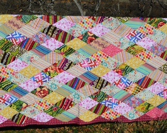 Twin Size Quilt, Marquee Diamonds Quilt