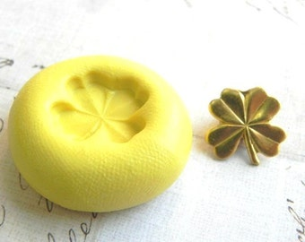 Four Leaf Clover - Flexible Silicone Mold - Polymer Clay Mold, Pmc Mold, Resin Mold, Crafting Mold