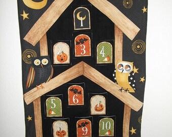 Halloween Countdown Calendar - Owls on Watch