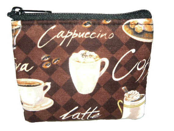 Coffee Lover Coin Bag