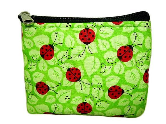 Ladybugs Coin Bag