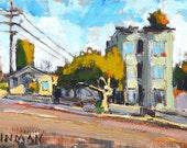 Market Street Needs Paving - San Diego Painting