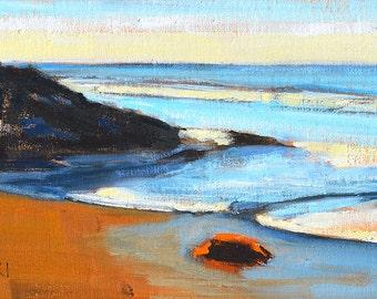 Santa Barbara Carpinteria Beach Landscape Painting