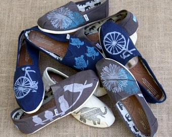 Customized TOMS shoes