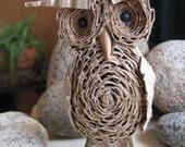 Standing Cardboard Owl Miniature