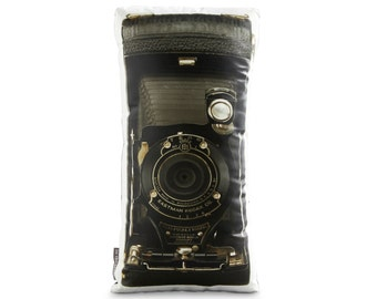 Vintage NO.1A Pocket Kodak Camera Printed Pillow