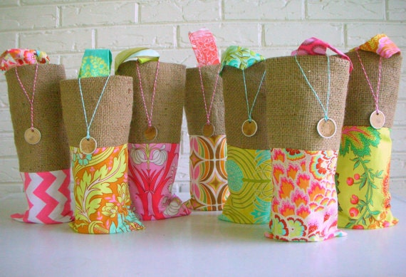 Beach Wedding Gift Bags: Items Similar To Bridesmaid Gift Bags Wine