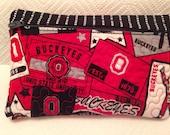 Ohio Buckeye Zipper Pouch