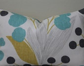 BOTH SIDES - Kravet Capparis in Sunshine - LUMBAR Sizes Decorative Designer Pillow Cover