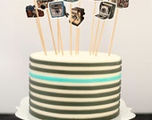 VINTAGE CAMERAS Cupcake Toppers