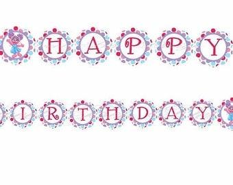 Abby Cadabby Birthday Banner, Abby Cadabby Birthday Party Banner, Abby Cadabby- DIY Custom Printable