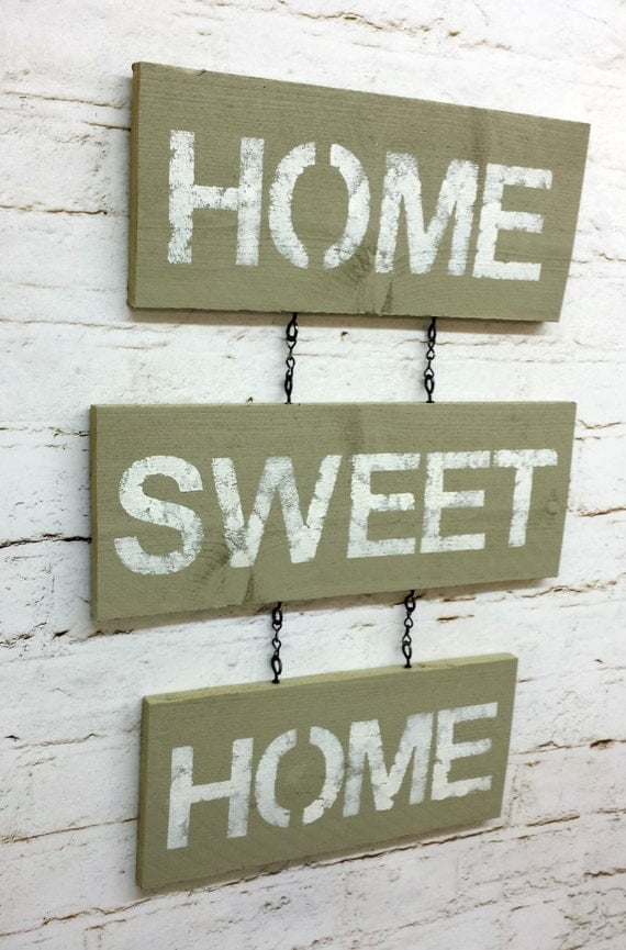 Unavailable listing on etsy Home sweet home wall decor