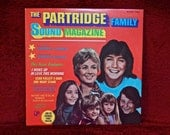 CHRISTMAS SALE The PARTRIDGE Family - The Partridge Family Sound Magazine - 1971 Vintage Vinyl Record Album
