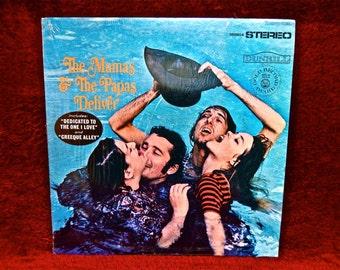 The MAMAS and PAPAS - The Mamas & Papas Deliver - 1967 Vintage Vinyl Record Album