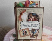 Scrapbooking Calendar Album for Special People and Events