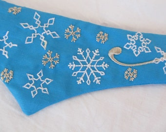 6 mini Snowflakes - machine embroidery design - files separately for hoop 4x4