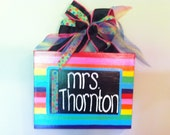 Personalized Teacher Door Sign